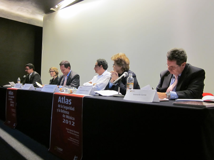 Atlas de la seguridad y defensa de México 2012. Presencia en medios