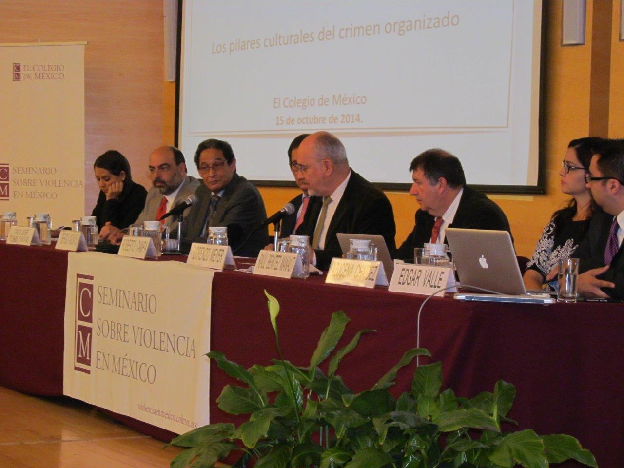 Presentación de resultados en el Seminario sobre Violencia en México