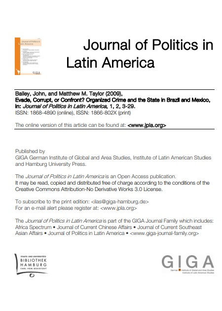 Evade, Corrupt, or Confront? Organized Crime and the State in Brazil and Mexico