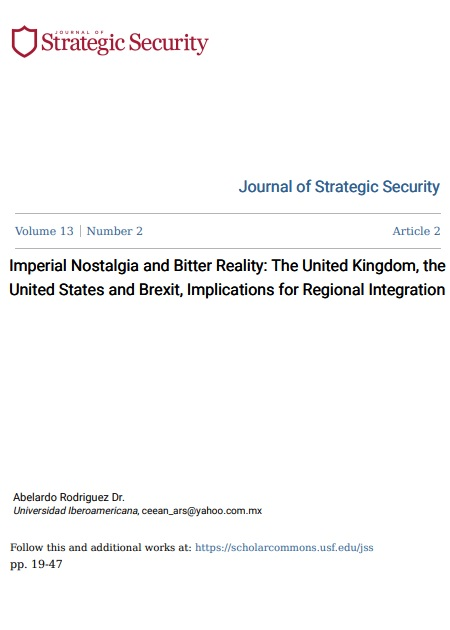 Imperial Nostalgia and Bitter Reality: The United Kingdom, the United States and Brexit, Implications for Regional Integration
