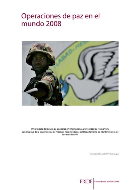 Operaciones de paz en el mundo 2007
