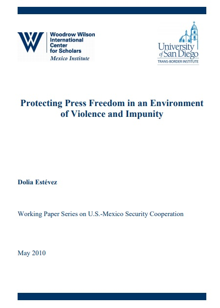 Protecting press freedom in an environment of violence and impunity