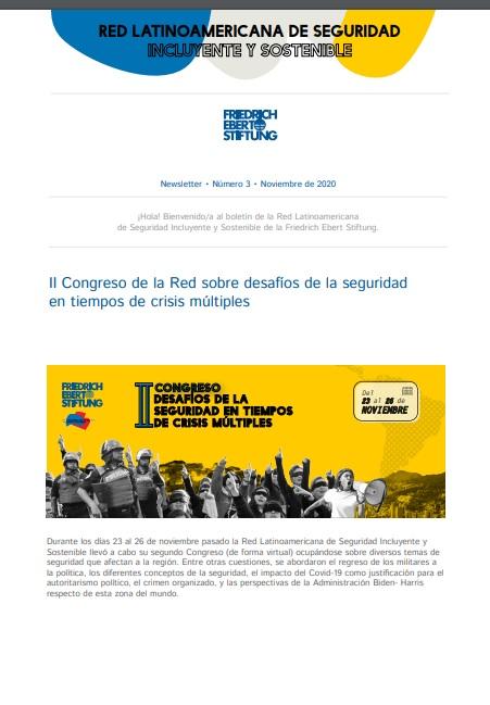 Congreso de la Red sobre desafíos de la seguridad en tiempos de crisis múltiples
