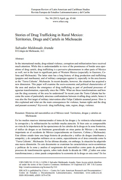 Stories of Drug Trafficking in Rural Mexico