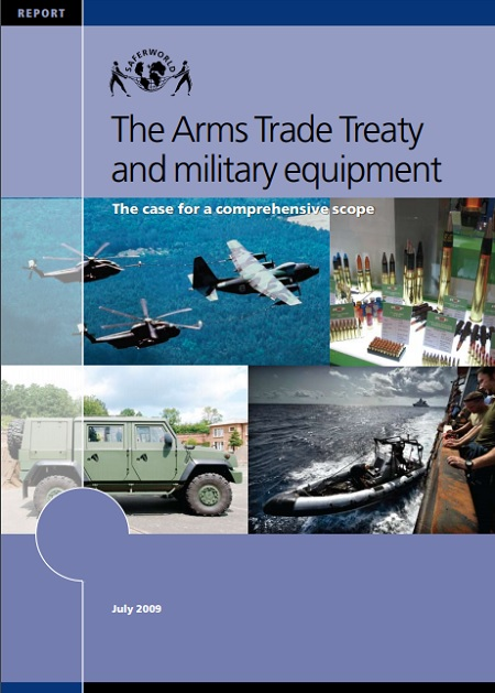Reporte: The Arms Trade Treaty and Military Equipment. The Case for a Comprehensive Scope