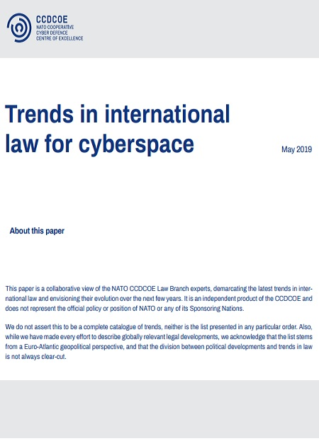 Trends in international law for cyberspace