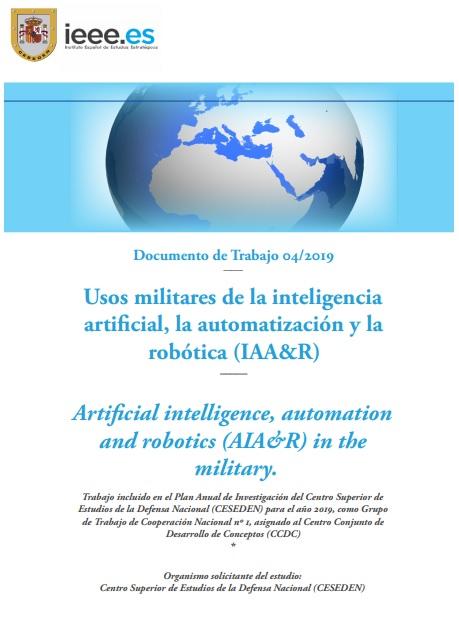 Usos militares de la inteligencia artificial, la automatización y la robótica