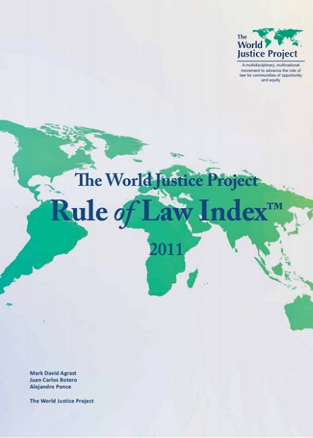 World Justice Project - Rule of Law Index 2011