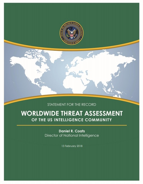 Worldwide Threat Assessment of the US Intelligence Community 2018