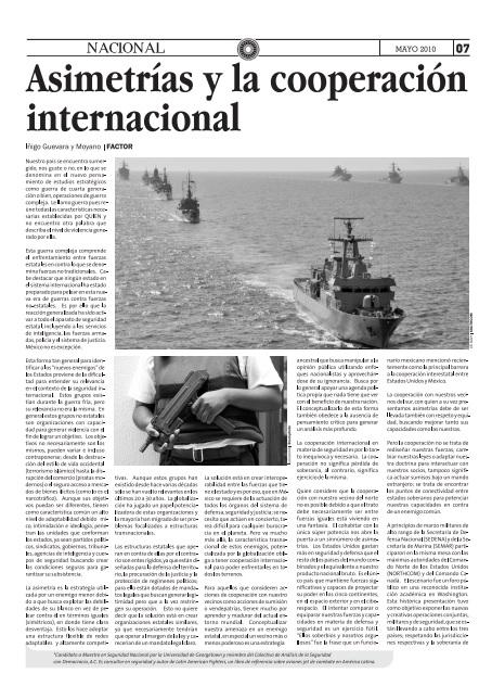 Asimetrías y la cooperación internacional