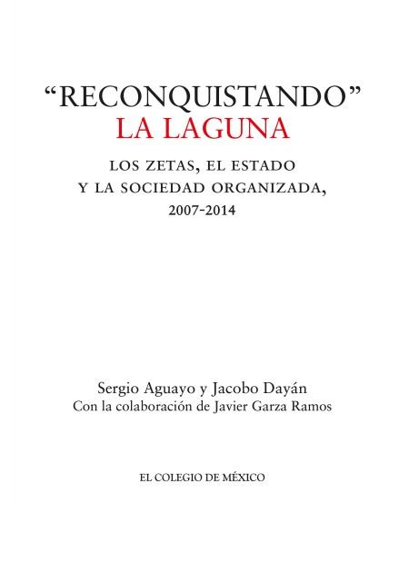 """Reconquistando"" La Laguna"