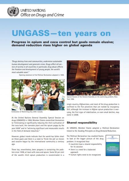 UNGASS - Ten Years On